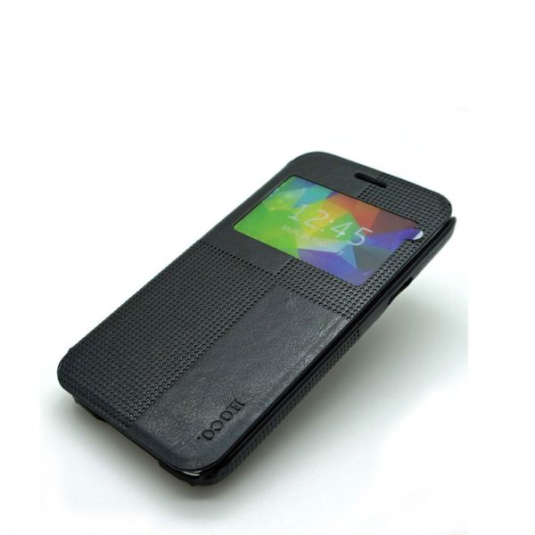 Hoco futrola Crystal fashion series leather case za Samsung N910 Note 4, crna