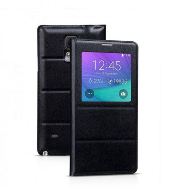 Hoco futrola Original series leather case za Samsung N910 Note 4, crna