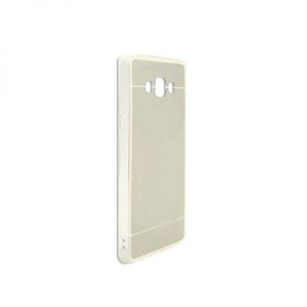 Futrola Ogledalo za Samsung A700 A7, srebrna