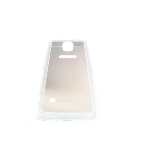 Futrola Ogledalo za Samsung N910 Note 4, srebrna
