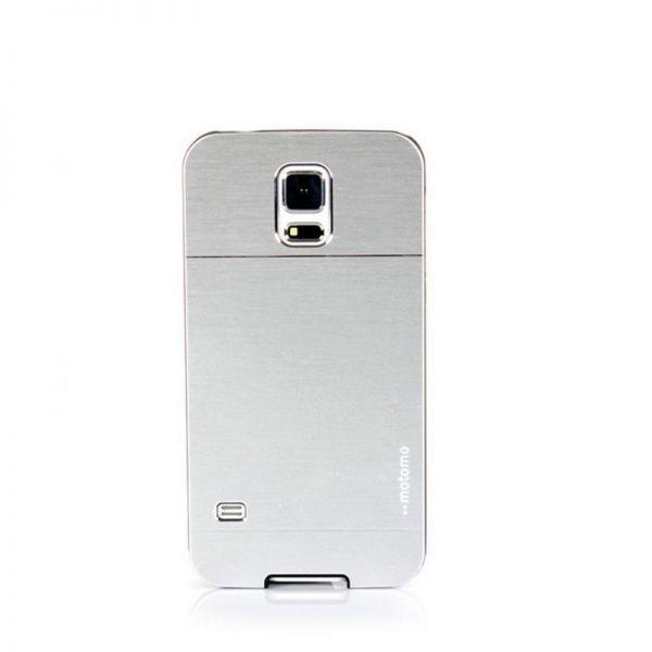 Futrola Motomo za  Samsung i9600 S5, srebrna