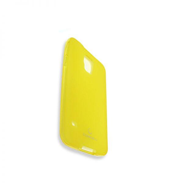 Futrola Comicell Durable silikon za Samsung i9600 S5, žuta