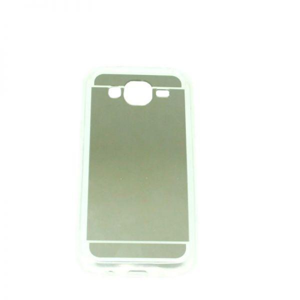 Futrola Ogledalo za Samsung J500 J5, srebrna