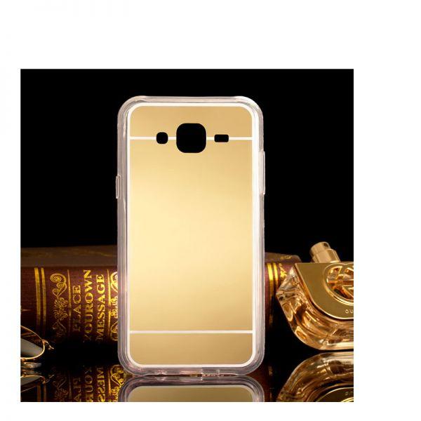 Futrola Ogledalo za Samsung J500 J5, zlatna