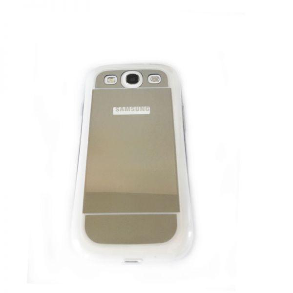 Futrola Ogledalo za Samsung i9300 S3, srebrna