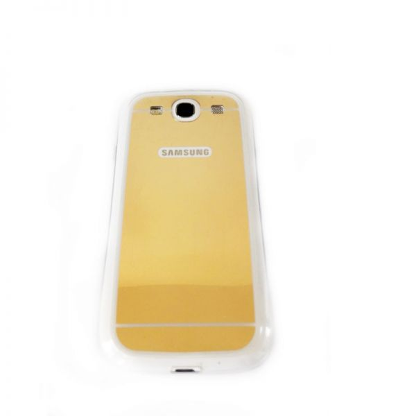 Futrola Ogledalo za Samsung i9300 S3, zlatna