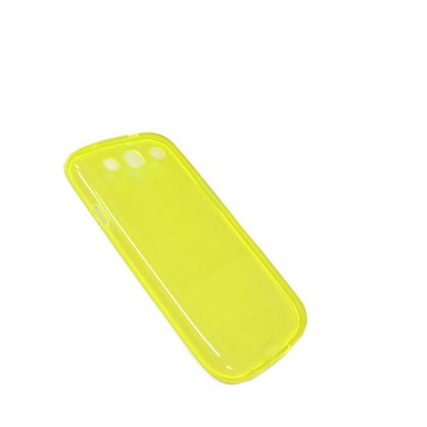 Futrola Comicell ultra tanki silikon za Samsung i9300 S3, žuta