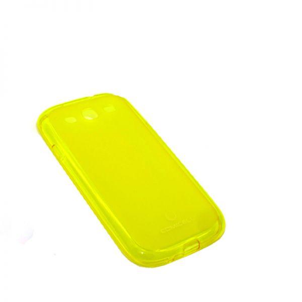 Futrola Comicell Durable silikon za Samsung i9300 S3, žuta