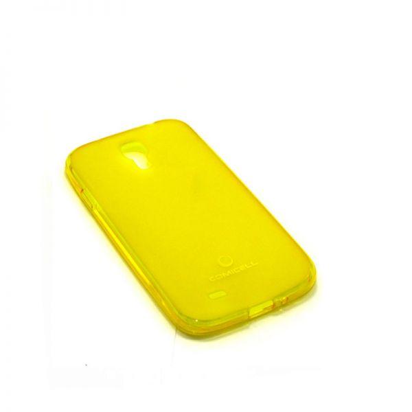 Futrola Comicell Durable silikon za Samsung i9500 S4, žuta