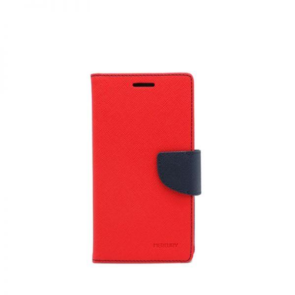 Futrola Mercury na preklop za Samsung i9500 S4, crvena