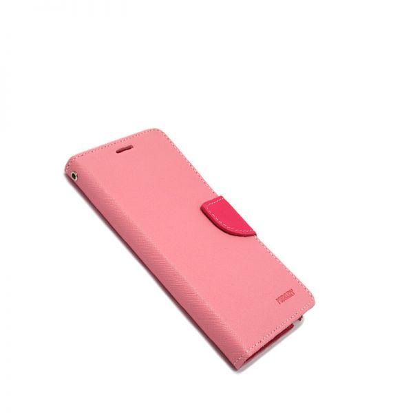 Futrola Mercury na preklop za Samsung i9500 S4, roze