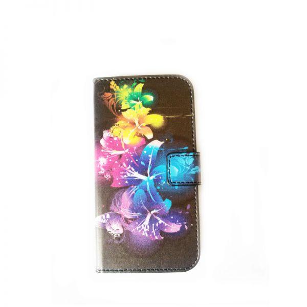 Futrola na preklop za Samsung i9500 S4, cvetna