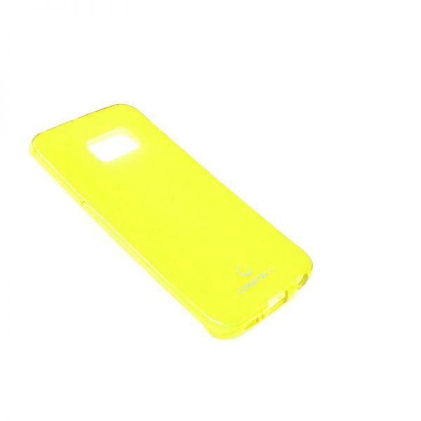 Futrola Comicell Durable silikon za Samsung G925 S6 edge, žuta