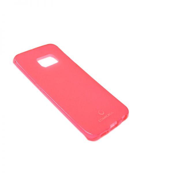 Futrola Comicell Durable silikon za Samsung G925 S6 edge, pink