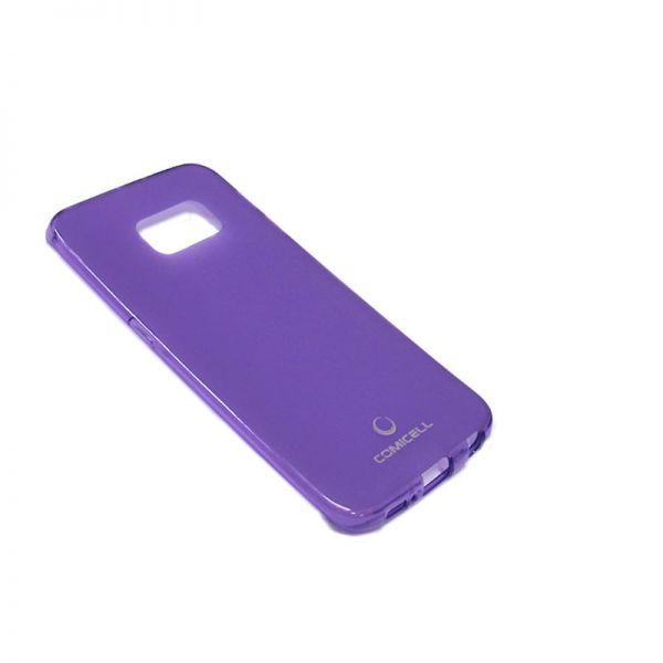 Futrola Comicell Durable silikon za Samsung G925 S6 edge, ljubičasta