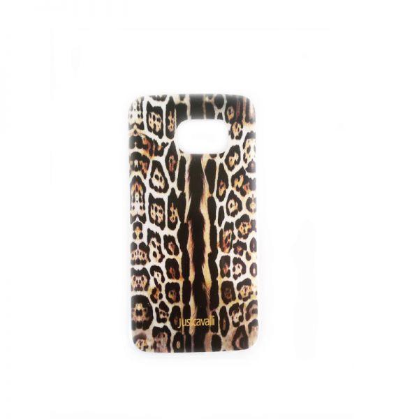 Futrola silikon Print za Samsung G925 S6 edge Just Cavalli, leopard