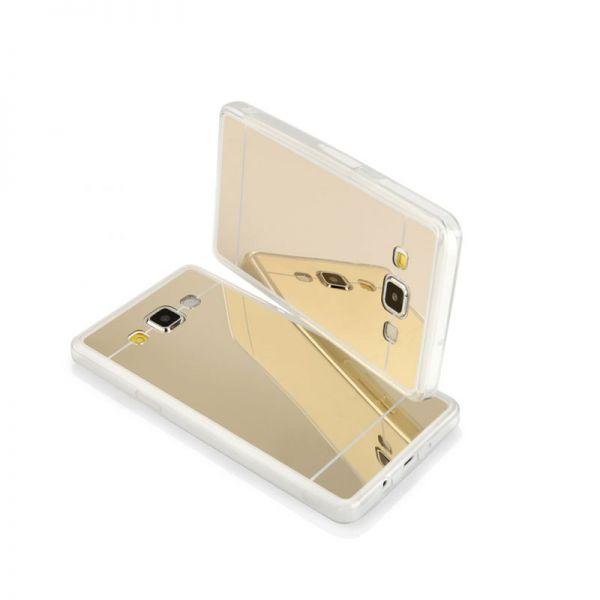 Futrola Ogledalo za Samsung A500 A5, zlatna