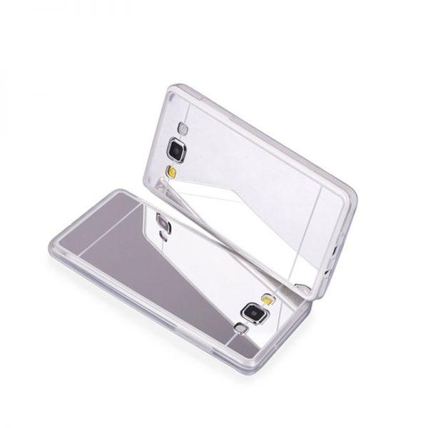 Futrola Ogledalo za Samsung A500 A5, srebrna