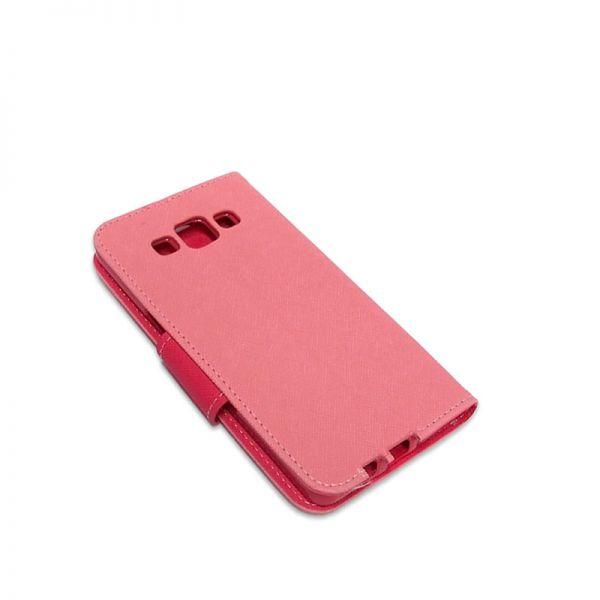 Futrola Mercury na preklop za Samsung A500 A5, roze