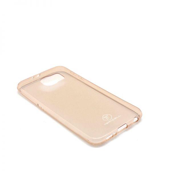 Futrola Teracell ultra tanki silikon za Samsung G920 S6, zlatna