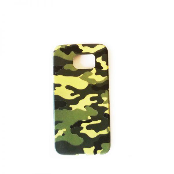 Futrola silikon Print za Samsung G920 S6, army