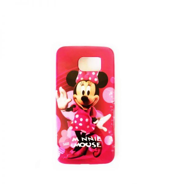 Futrola silikon Print za Samsung G920 S6 Minnie Mouse, pink