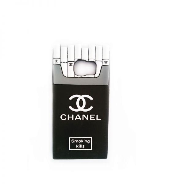 Futrola Gumena za Samsung G920 S6 Chanel Cigarete, crna