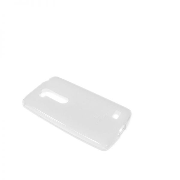 Futrola Comicell Durable silikon za LG L fino D295, bela