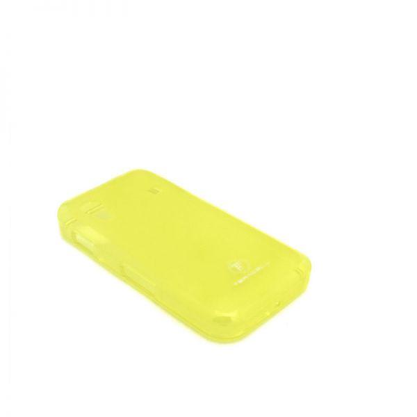Futrola silikon Teracell Giulietta za Samsung Ace S5830, žuta