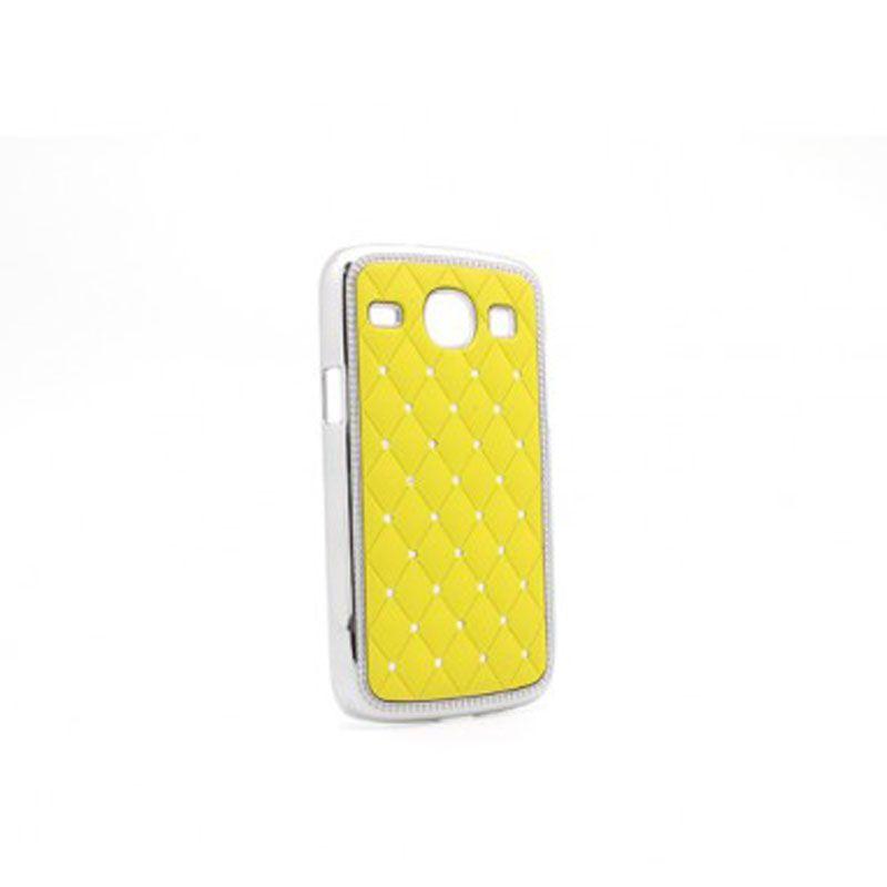 Futrola Cirkon plastika za Samsung i8260/i8262 Core, žuta