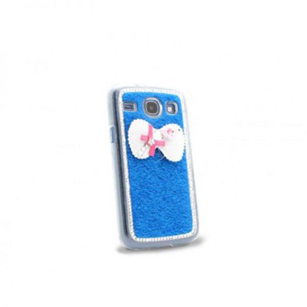 Futrola Diamond bow plastika za Samsung i8260/i8262 Core, plava