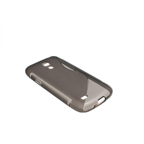 Futrola silikon Tpu S za Samsung S4 mini i9190, siva