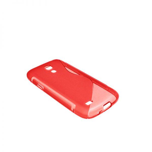 Futrola silikon Tpu S za Samsung S4 mini i9190, crvena