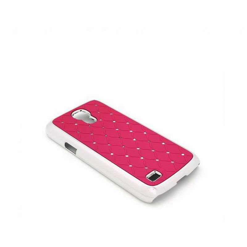 Futrola Cirkon plastika za Samsung S4 mini i9190, pink