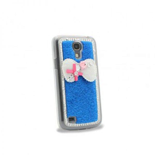 Futrola Diamond bow plastika za Samsung S4 mini i9190, plava