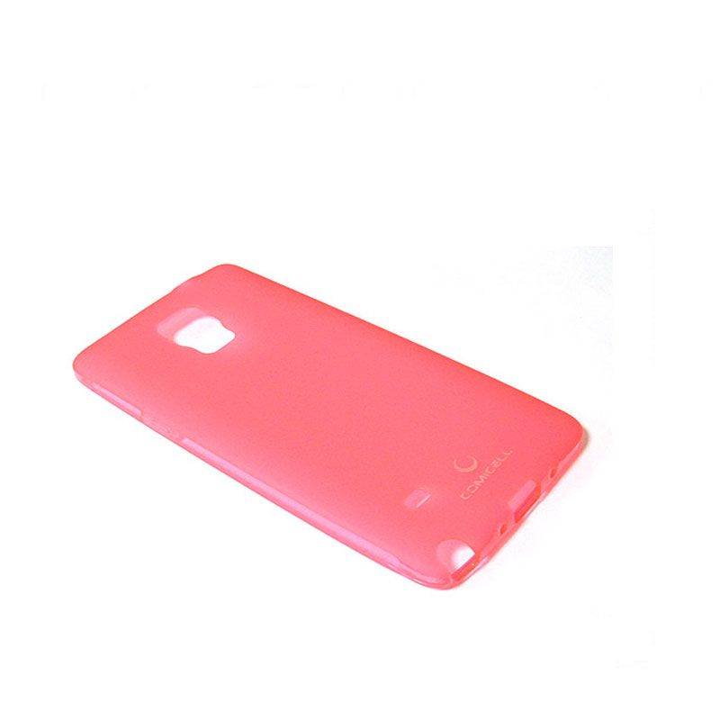 Futrola Comicell Durable silikon  za Samsung N910 Note 4, pink