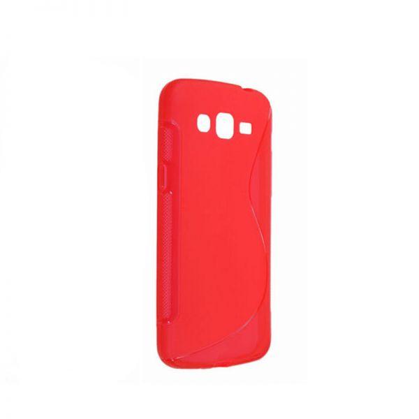 Futrola silikon Tpu S za Samsung G7102 Grand 2, crvena