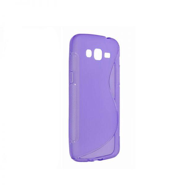 Futrola silikon Tpu S za Samsung G7102 Grand 2, ljubičasta