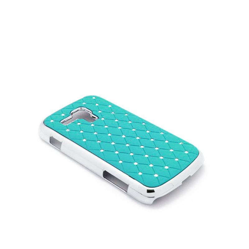 Futrola Cirkon plastika za Samsung S7560/S7562 Trend, plava