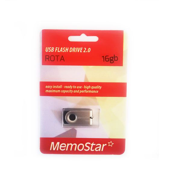 Usb Flash disk Memostar Rota 16GB, srebrni