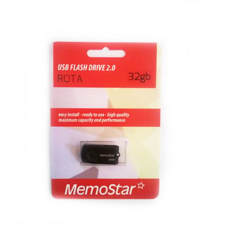Usb Flash disk Memostar Rota 32GB, crni