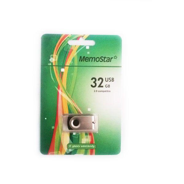 Usb Flash disk Memostar Rota 32GB, srebrni