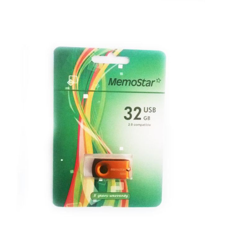 Usb Flash disk Memostar Rota 32GB, narandzasti
