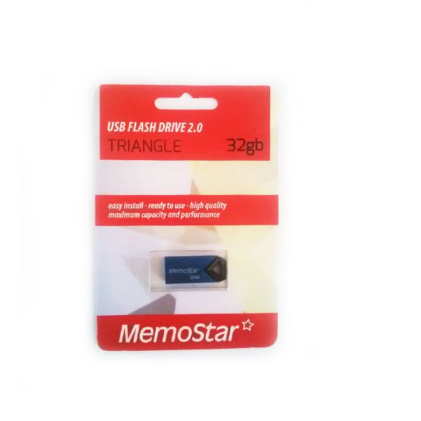 Usb Flash disk Memostar Triangle 32GB, plavi