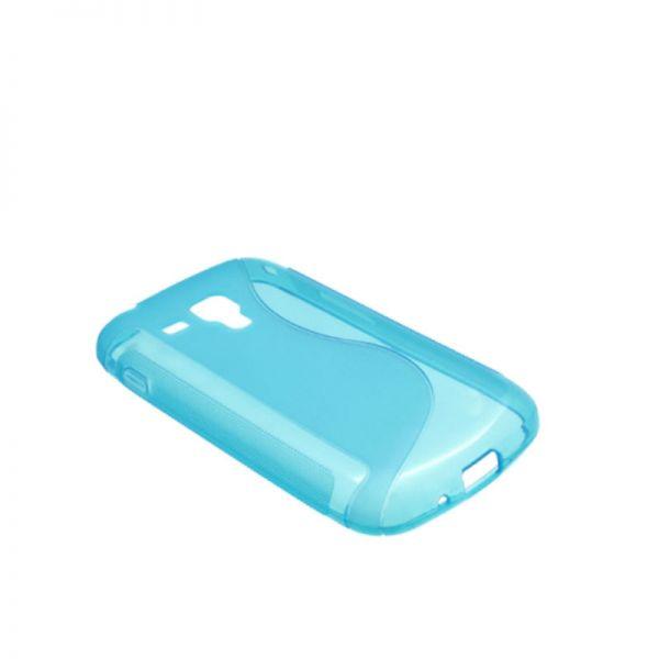 Futrola silikon Tpu S za Samsung S7560/S7562 Trend, plava