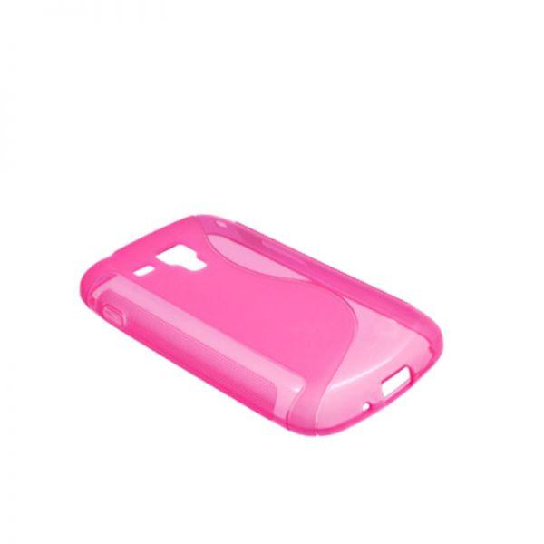 Futrola silikon Tpu S za Samsung S7560/S7562 Trend, pink