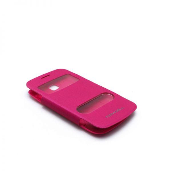 Futrola na preklop sa prozorima za Samsung S7560/S7562 Trend, pink