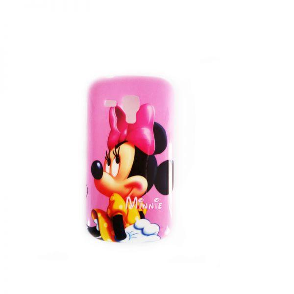 Futrola silikon Print za Samsung S7560/S7562 Trend Minnie Mouse, pink