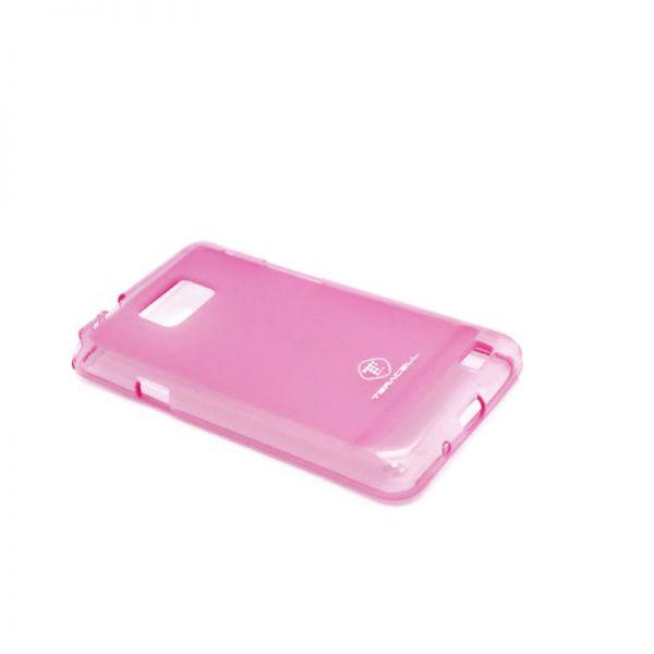 Futrola silikon Teracell Giulietta za Samsung i9100 S2, pink