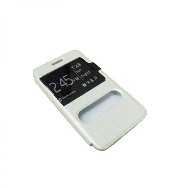 Futrola na preklop sa prozorima za Samsung i9100 S2, bela